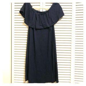 Velvet by Graham & Spencer OTS Dress, Blue (L)